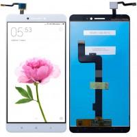 Дисплей для Xiaomi Mi Max в сборе с тачскрином, белый