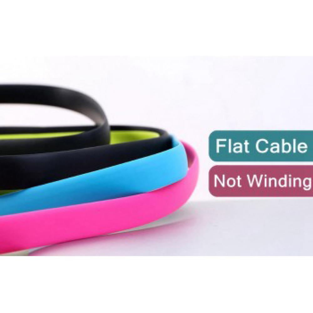 Кабель USB - Lightning Remax FullSpeed Data Line 2, розовый