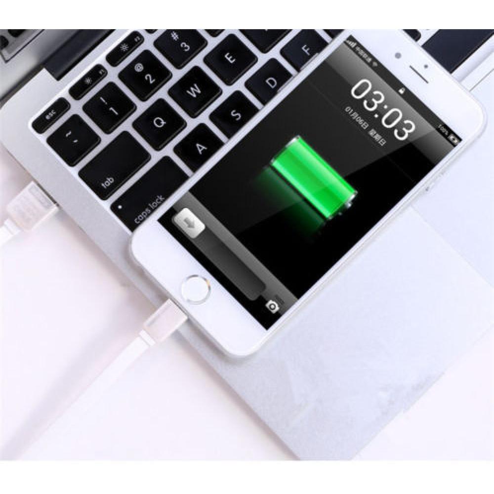 Кабель USB - Lightning Remax KingKong Safe-Charge (с запахом) 1М, белый