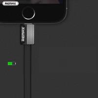 Кабель USB - Lightning Remax Platinum Metal RC-044i 1M, черный