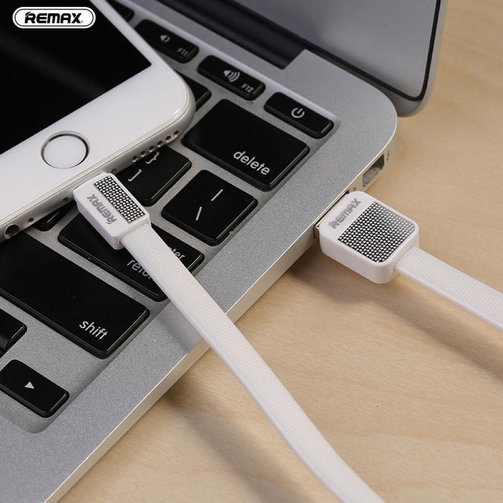 Кабель USB - Lightning Remax Platinum Metal RC-044i 1M, белый