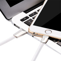 Кабель USB - Lightning hoco. X4 ZINC 1.2M, белый