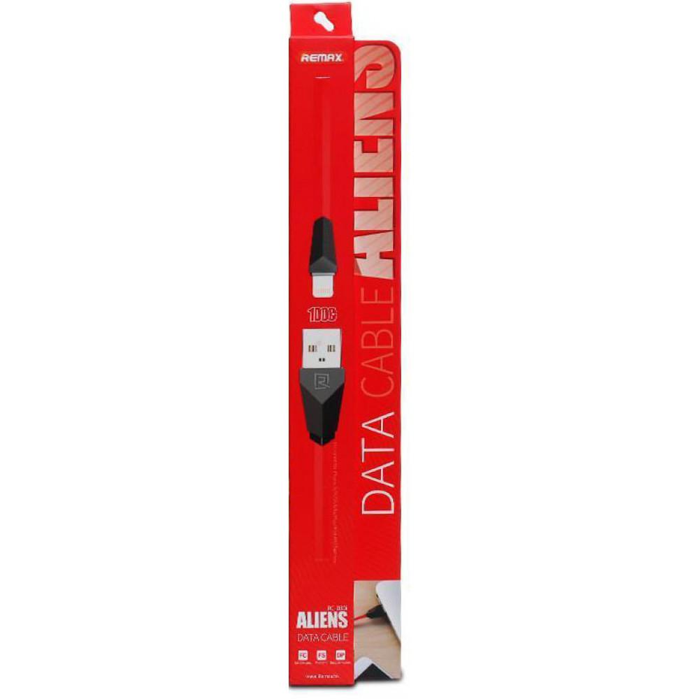 Кабель USB - Micro USB Remax Aliens RC-030m 1М, красный