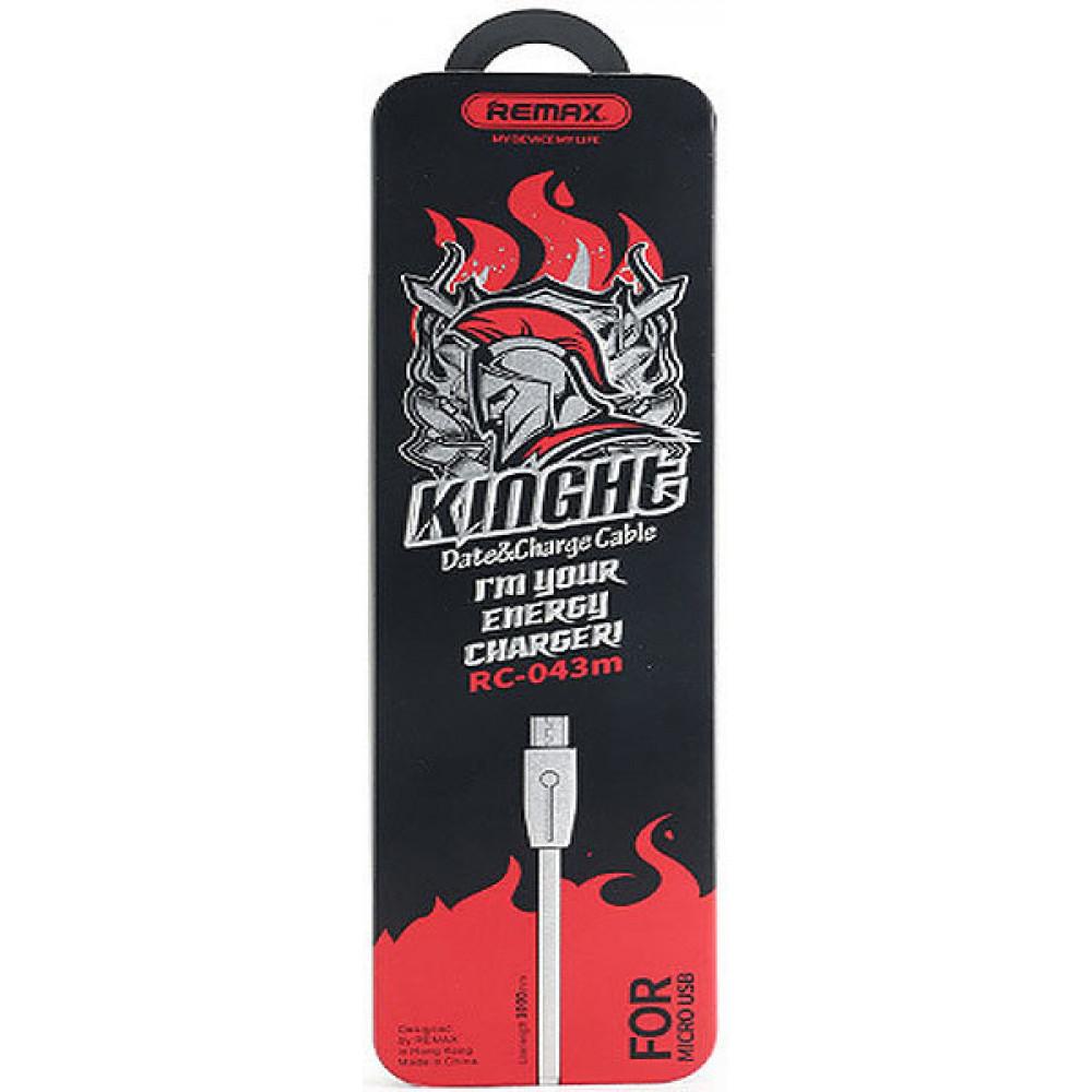 Кабель USB - Micro USB Remax Knight RC-043m (в ассортименте)