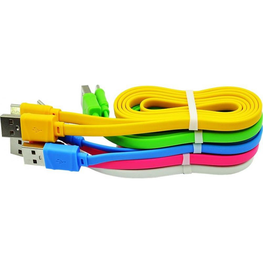 Кабель USB - TYPE-C hoco. X5 Bamboo 1M, желтый