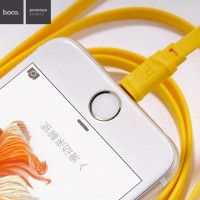 Кабель TYPE-C hoco. X5 Bamboo 1M желтый