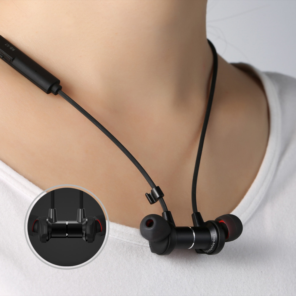 Беспроводные Bluetooth наушники Remax RB-S7, белые