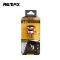Автомобильный магнитный держатель Remax C19 золотой