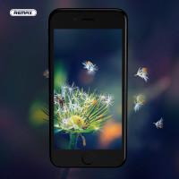 Защитное стекло 2.5D REMAX Perfect Tempered Glass для iPhone 7/ 8 черное