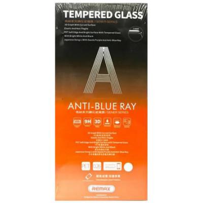 Защитное стекло 3D Remax Anti-Blue Ray для iPhone 7/ 8 черное
