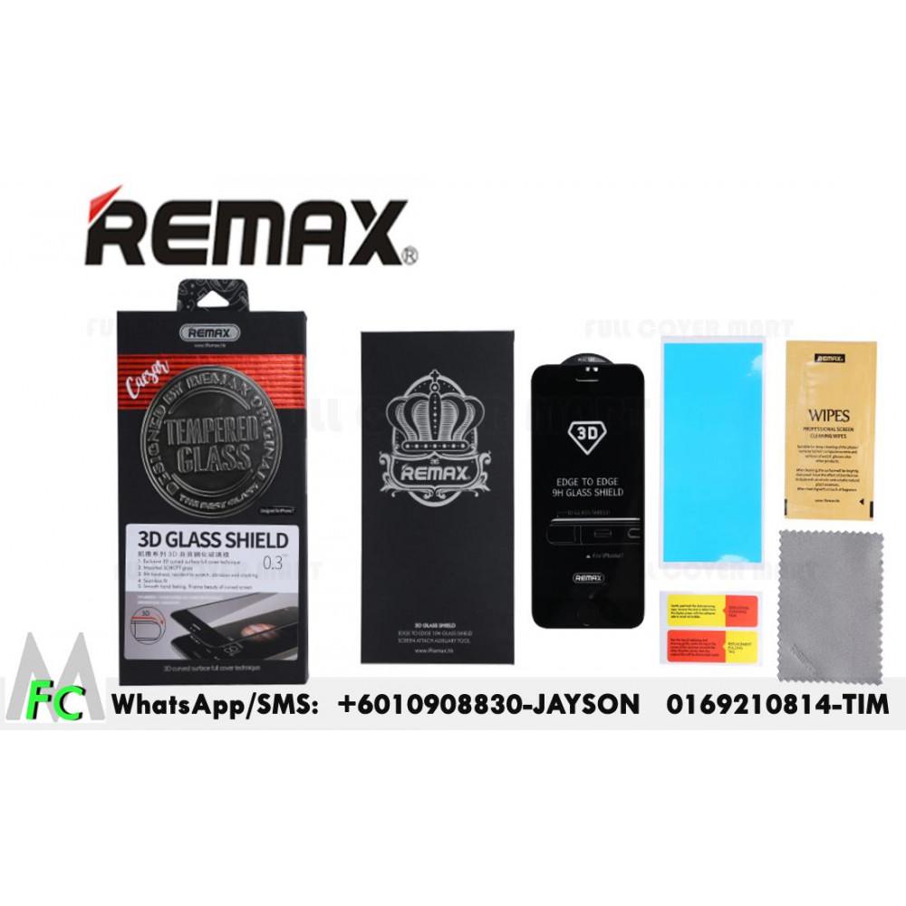 Защитное стекло 3D REMAX Caesar Tempered Glass для iPhone 6/ 6S черное