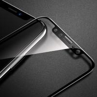 Защитное стекло 3D REMAX Caesar Tempered Glass для iPhone X черное