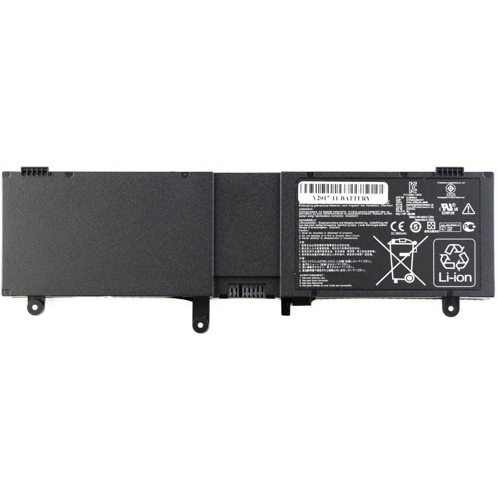 Аккумулятор для Asus N550/ N550J/ N550JV/ N550JK/ Q550L/ Q550LF (C41-N550)