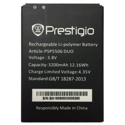 Аккумулятор для Prestigio Grace Q5 (PSP5506 DUO) 3200мАч