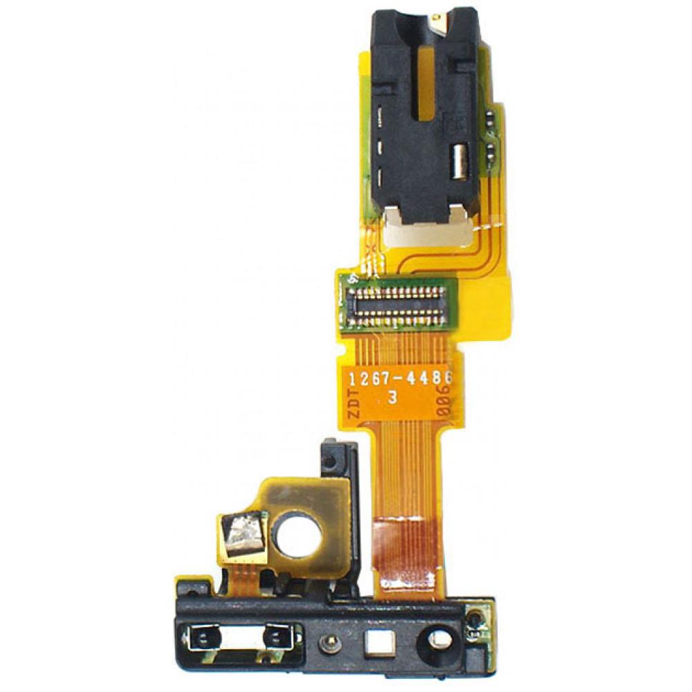 Шлейф для Sony Xperia ZR (C5503) c разъемом для наушников (audio jack)