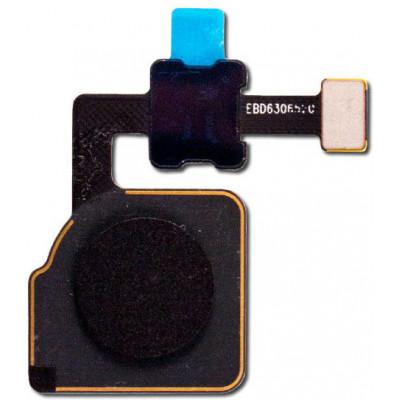 Датчик отпечатка пальца в сборе для Google Pixel 2 XL, черный