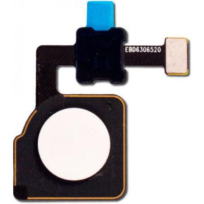 Датчик отпечатка пальца в сборе для Google Pixel 2 XL, белый