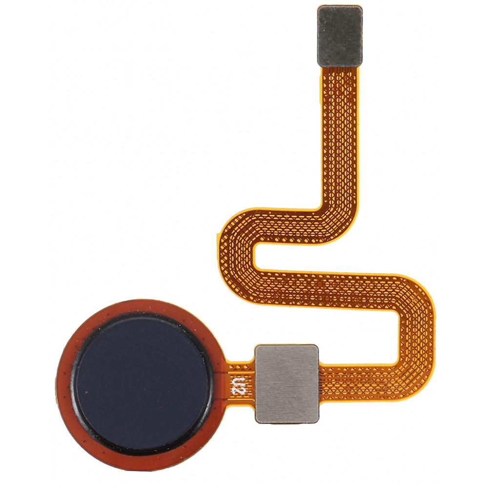 Датчик отпечатка пальца в сборе для HTC Desire 10 Pro, черный