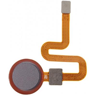 Датчик отпечатка пальца в сборе для HTC Desire 10 Pro, серый