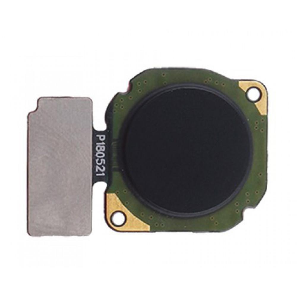 Датчик отпечатка пальца в сборе для Huawei Nova 3i черный