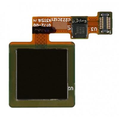 Датчик отпечатка пальца в сборе для Lenovo K5 Note, черный