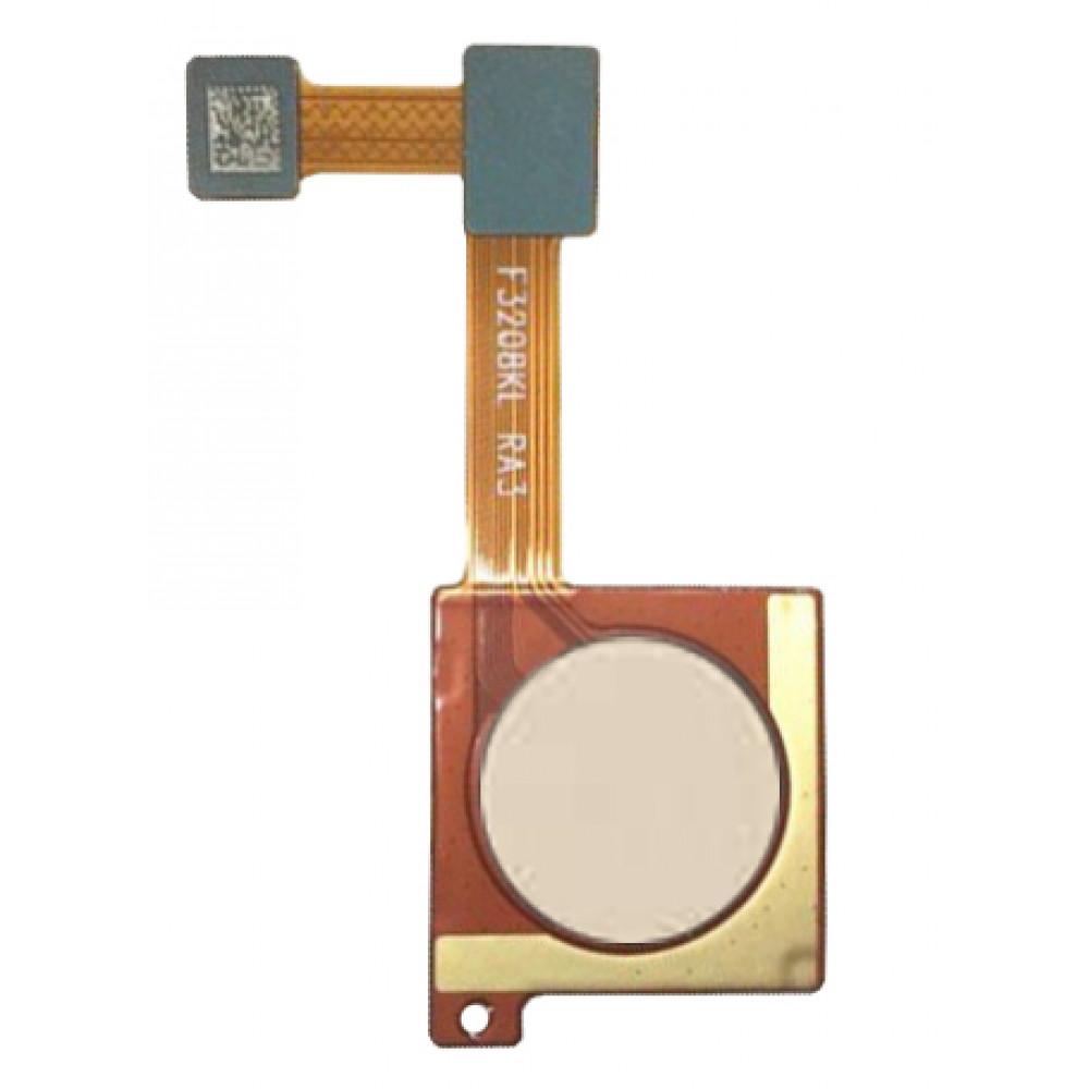 Датчик отпечатка пальца для Xiaomi Mi6X / Mi A2, золото