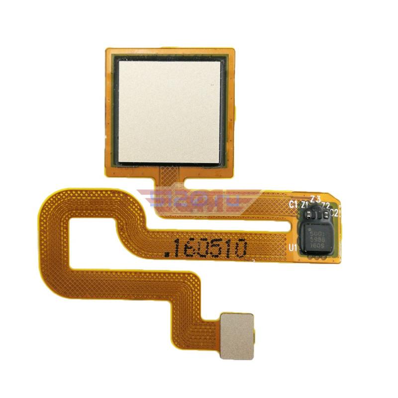 Датчик отпечатка пальца в сборе для Xiaomi Redmi Note 3 / Redmi Note 3 Pro, золото