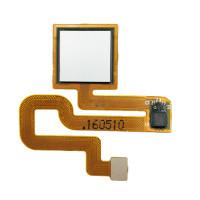Датчик отпечатка пальца в сборе для Xiaomi Redmi Note 3 / Redmi Note 3 Pro, серебро