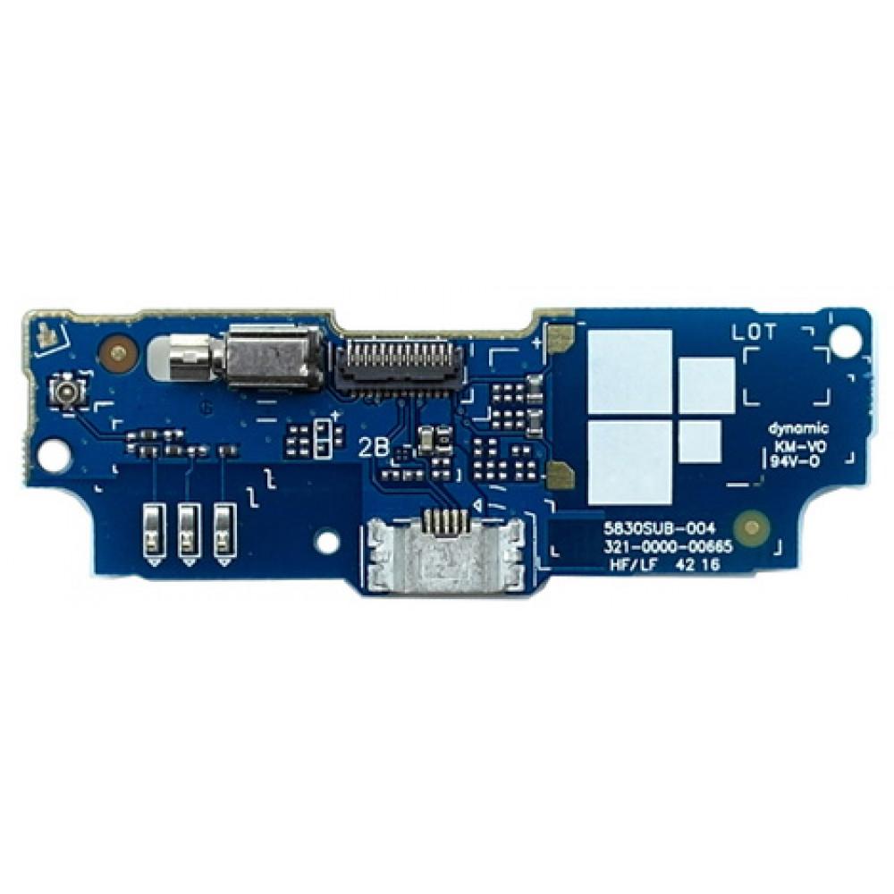 Плата с разъемом зарядки для Asus Zenfone Go (ZB552KL) (нижняя)