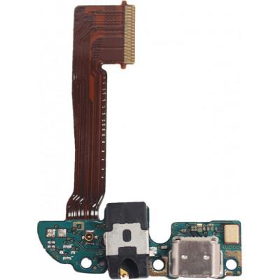 Плата для HTC One M8 с разъемом зарядки и аудиовыходом (нижняя)