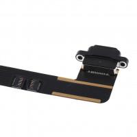 Шлейф для iPad Air с разъемом зарядки (нижний) черный