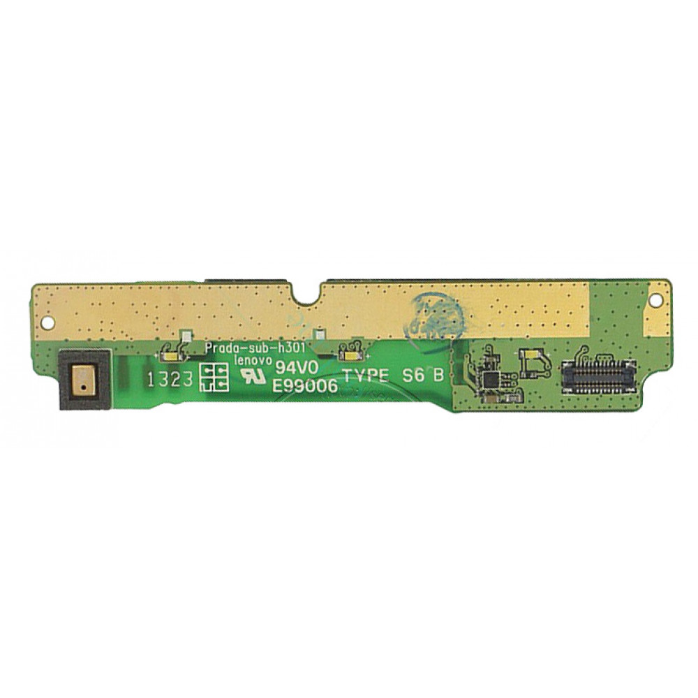 Плата для Lenovo P780 с системным разъемом (нижняя)
