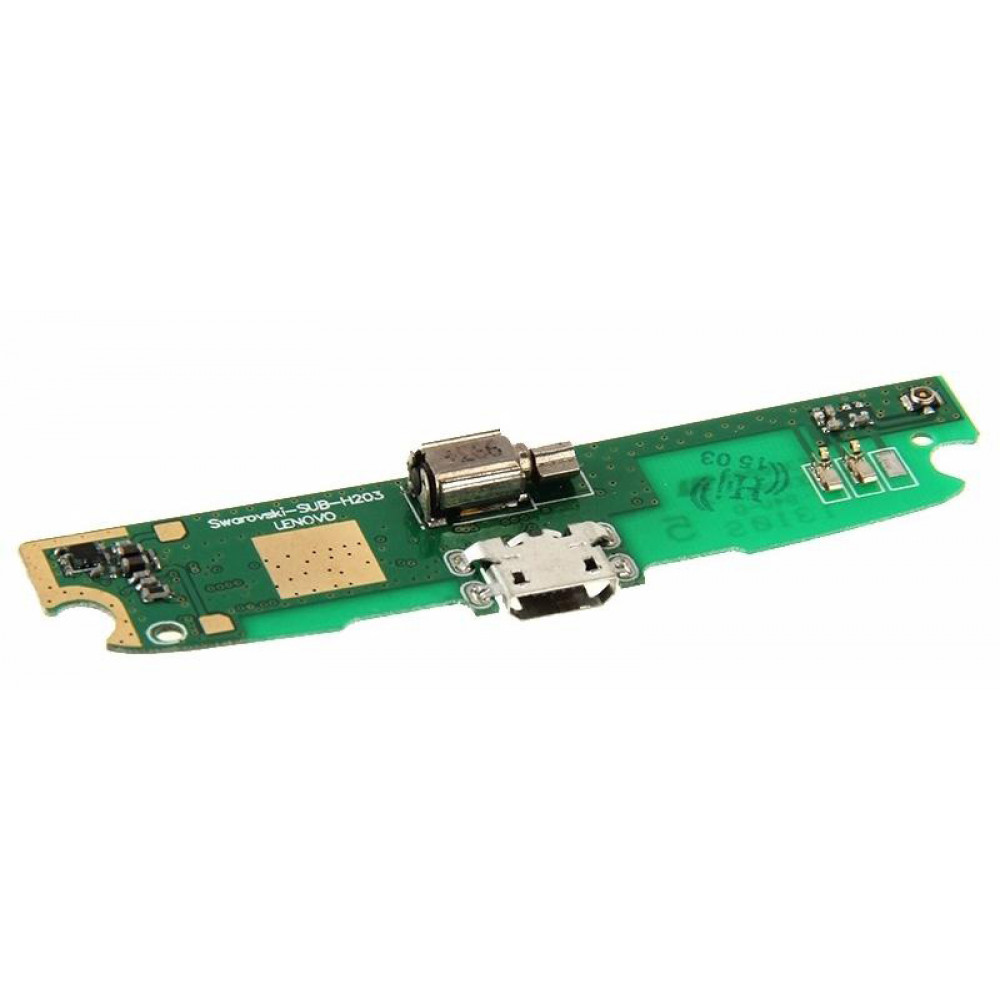 Плата для Lenovo S820 с разъемом зарядки (нижняя)