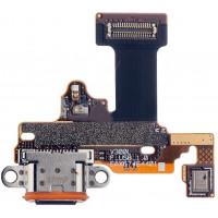 Шлейф с разъемом зарядки для LG V30 Plus ( V30 )