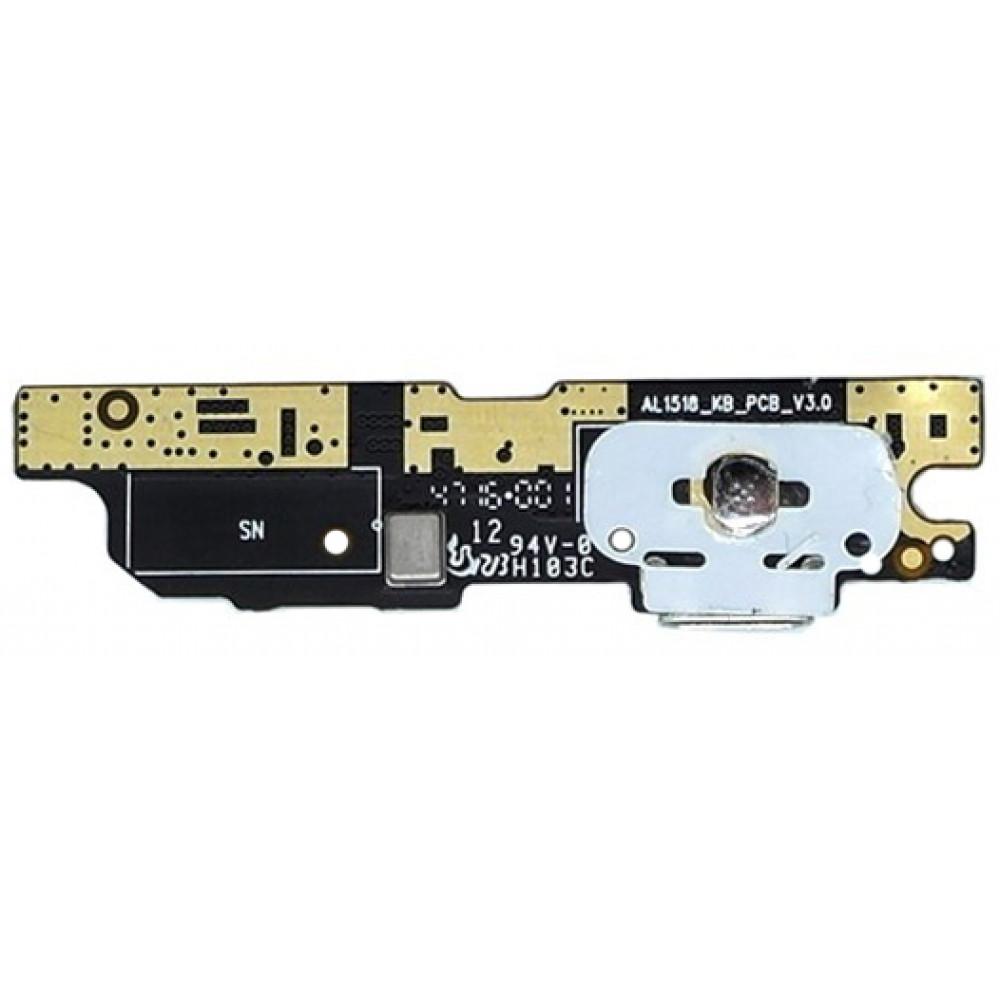 Плата для Meizu M3 Note (L681H) с разъемом зарядки (нижняя)