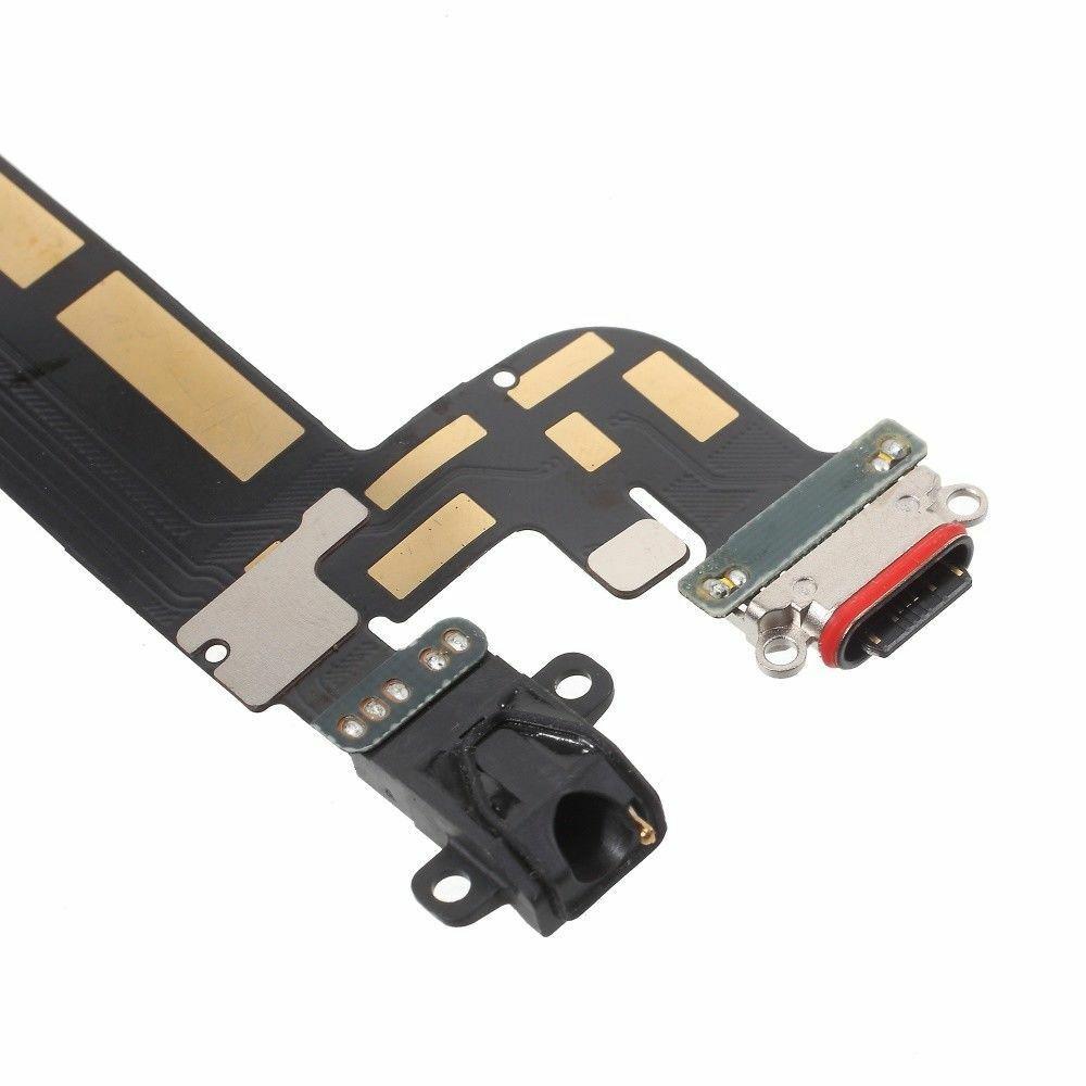 Шлейф с разъемом зарядки и аудиовыходом для OnePlus 5T