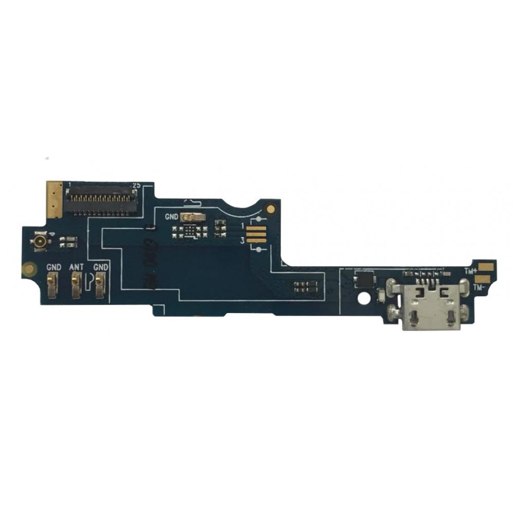 Плата для Philips Xenium S326 с микрофоном, нижняя