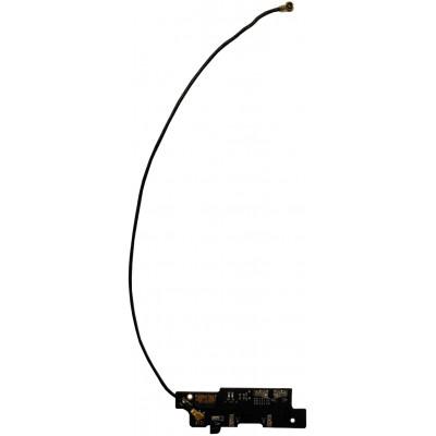 Плата для Prestigio Grace S7 Duo LTE (PSP7551) с микрофоном и коаксиальным (антенным) кабелем