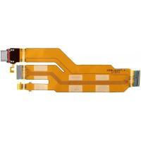 Шлейф для Sony Xperia XZ / XZs с разъемом зарядки