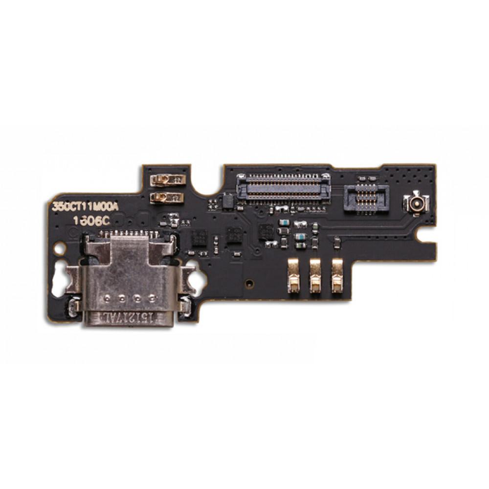 Плата для Xiaomi Mi4c с разъемом зарядки (нижняя)