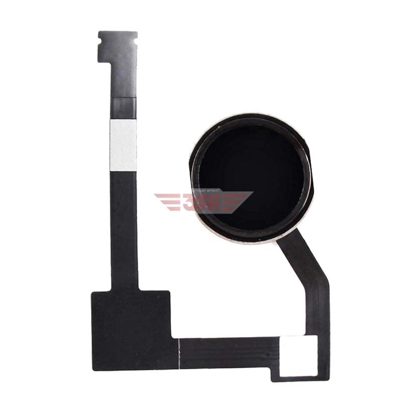 Кнопка Home в сборе для iPad Air 2/ mini 4/ iPad Pro 12.9, черная