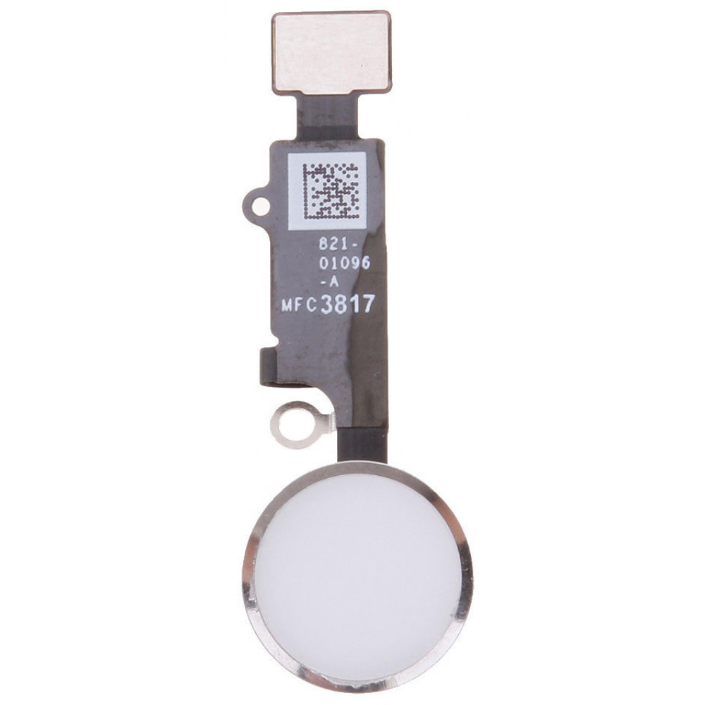 Кнопка HOME в сборе для iPhone 8/ 8 Plus, серебро