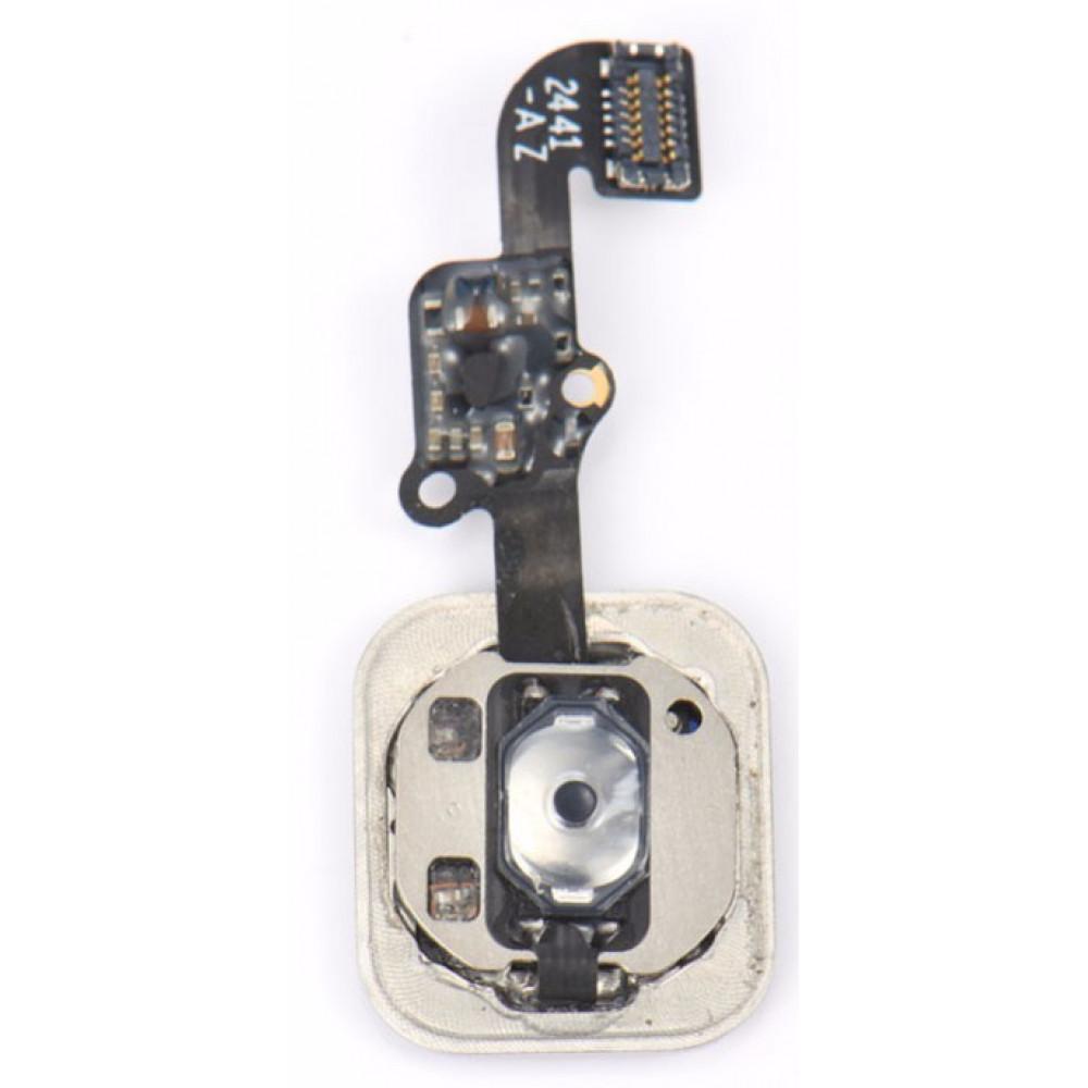 Кнопка HOME в сборе для iPhone 6, серебро