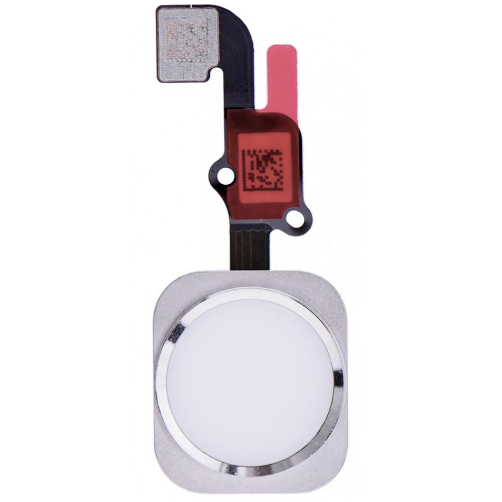 Кнопка HOME в сборе для iPhone 6S Plus, серебро