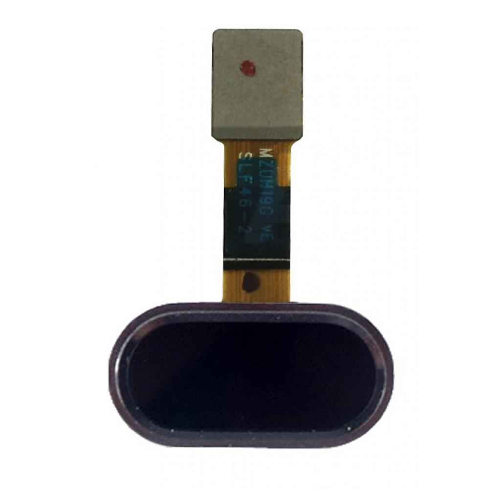 Кнопка HOME в сборе для Meizu M5 черная