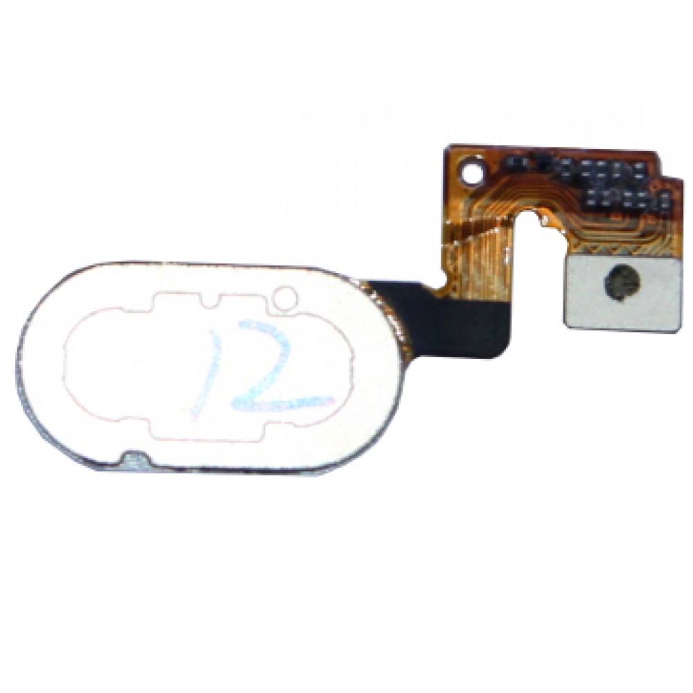 Кнопка HOME в сборе для Meizu M3 Note (L681h) (14 pin) черная