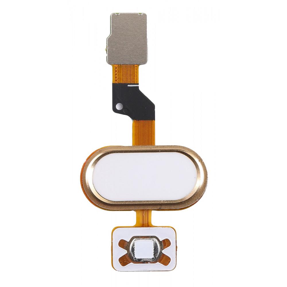 Кнопка HOME в сборе для Meizu M3s mini золотая