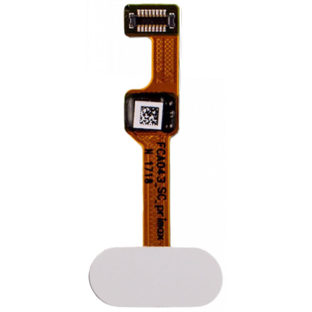 Кнопка Home в сборе для OnePlus 5, белая