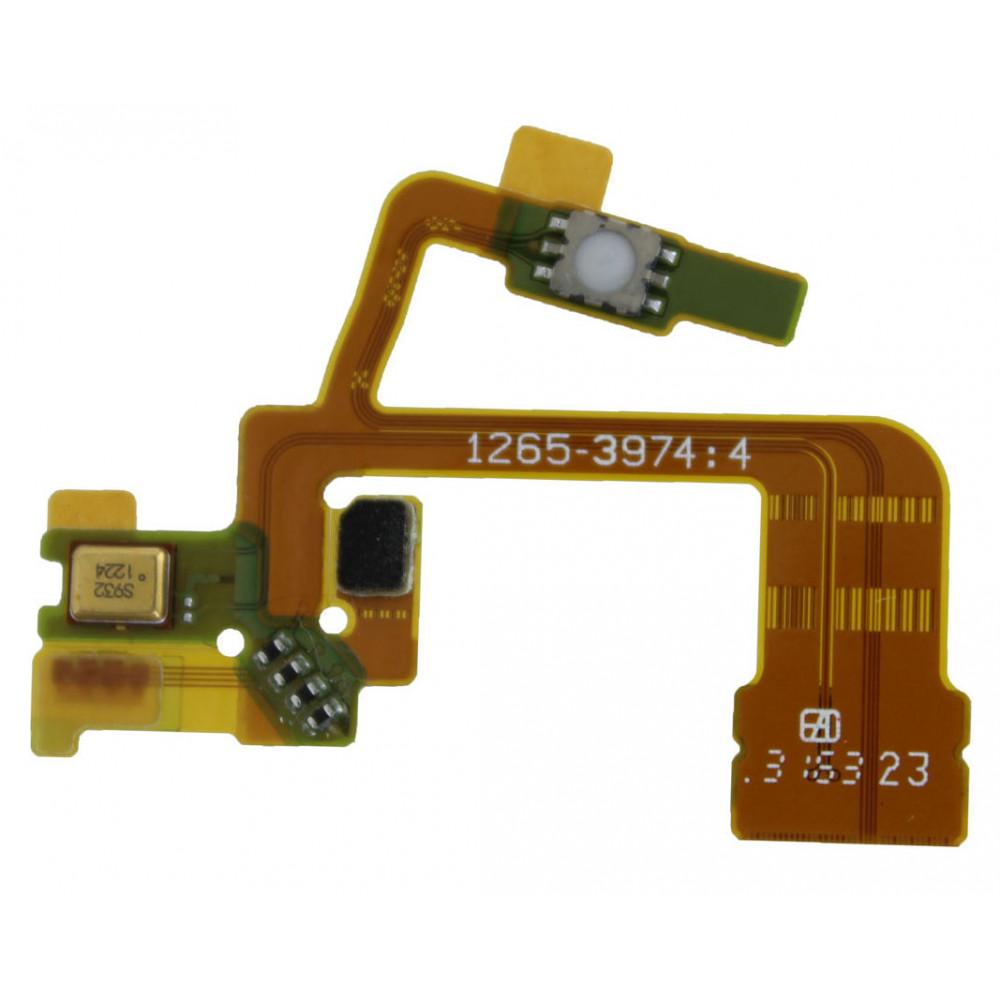 Шлейф для Sony Xperia ZL (С6503) кнопки включения камеры с микрофоном