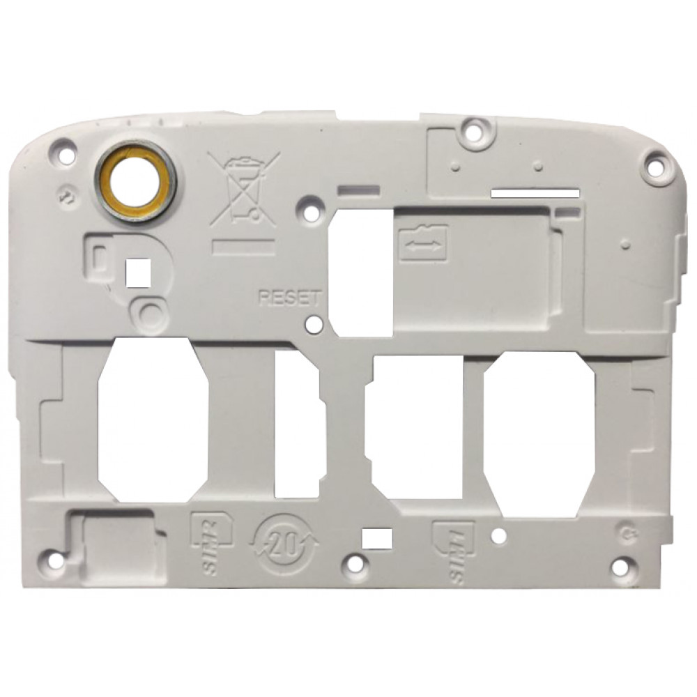 Задняя (верхняя) панель корпуса для Philips Xenium i908 белая